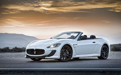 2013 Maserati GranCabrio MC wallpaper thumbnail.