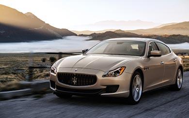 2013 Maserati Quattroporte wallpaper thumbnail.