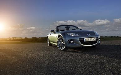 2013 Mazda MX-5 wallpaper thumbnail.