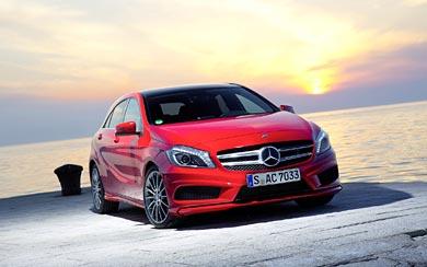 2013 Mercedes-Benz A-Class wallpaper thumbnail.