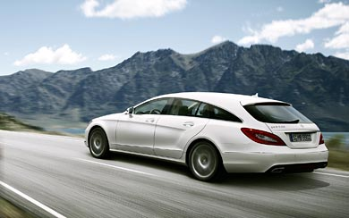 2013 Mercedes-Benz CLS Shooting Brake wallpaper thumbnail.