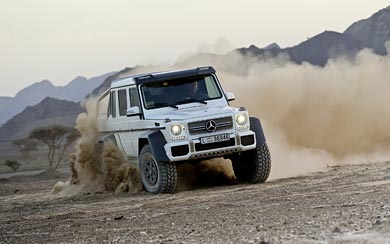 2013 Mercedes-Benz G63 AMG 6×6 wallpaper thumbnail.