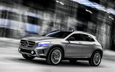 2013 Mercedes-Benz GLA Concept wallpaper thumbnail.