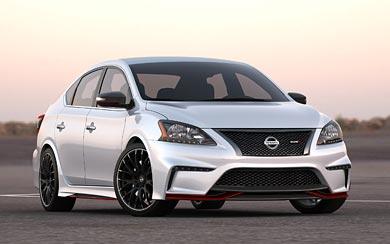 2013 Nissan Sentra Nismo Concept wallpaper thumbnail.