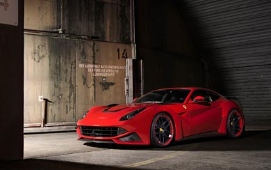 2013 Novitec Rosso Ferrari F12 Berlinetta N-Largo wallpaper thumbnail.