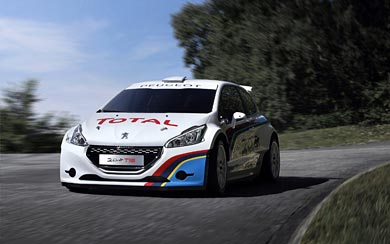 2013 Peugeot 208 T16 wallpaper thumbnail.