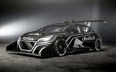 2013 Peugeot 208 T16 Pikes Peak wallpaper thumbnail.