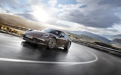 2013 Porsche 911 4S wallpaper thumbnail.