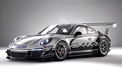 2013 Porsche 911 GT3 Cup wallpaper thumbnail.