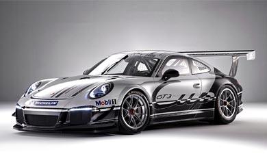 2013 Porsche 911 GT3 Cup wallpaper thumbnail.