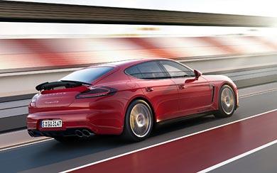 2013 Porsche Panamera GTS wallpaper thumbnail.