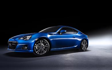 2013 Subaru BRZ wallpaper thumbnail.