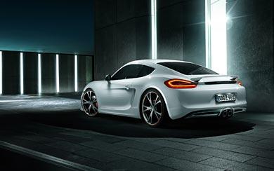 2013 TechArt Porsche Cayman wallpaper thumbnail.