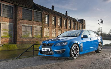 2013 Vauxhall VXR8 Tourer wallpaper thumbnail.