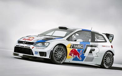 2013 Volkswagen Polo R WRC wallpaper thumbnail.