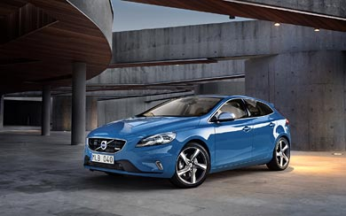 2013 Volvo V40 R-Design wallpaper thumbnail.