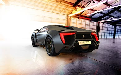 2013 W Motors Lykan Hypersport wallpaper thumbnail.