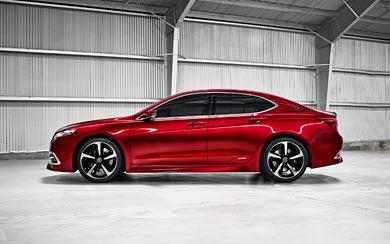 2014 Acura TLX Concept wallpaper thumbnail.