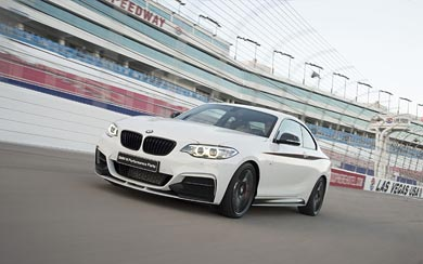 2014 BMW 2-Series M Performance Parts wallpaper thumbnail.