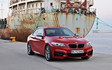 2014 BMW M235i Coupe wallpaper thumbnail.