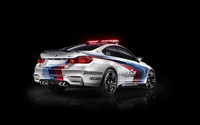 2014 BMW M4 Coupe MotoGP Safety Car wallpaper thumbnail.