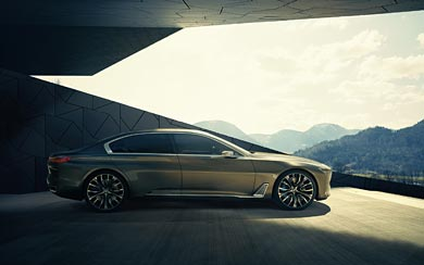 2014 BMW Vision Future Luxury Concept wallpaper thumbnail.