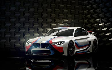 2014 BMW Vision Gran Turismo wallpaper thumbnail.