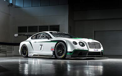 2014 Bentley Continental GT3 wallpaper thumbnail.