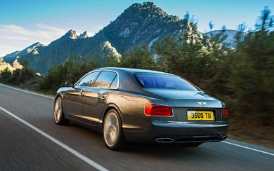 2014 Bentley Flying Spur wallpaper thumbnail.