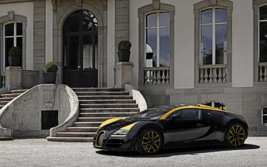 2014 Bugatti Veyron Grand Sport Vitesse 1 of 1 wallpaper thumbnail.