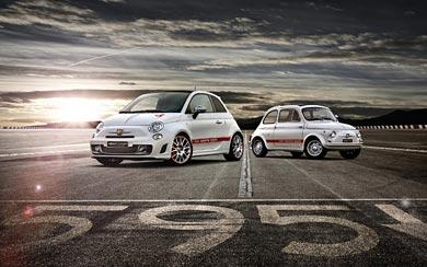 2014 Fiat 595 Abarth 50th Anniversary wallpaper thumbnail.