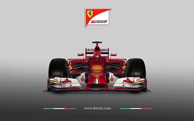 2014 Ferrari F14 T wallpaper thumbnail.