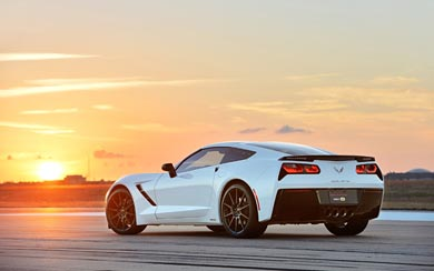 2014 Hennessey HPE500 Corvette Stingray wallpaper thumbnail.