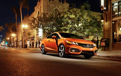 2014 Honda Civic Si Coupe wallpaper thumbnail.