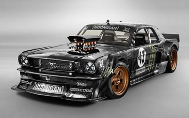 2014 Hoonigan Mustang RTR by Ken Block wallpaper thumbnail.