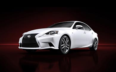 2014 Lexus IS wallpaper thumbnail.