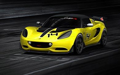 2014 Lotus Elise S Cup R wallpaper thumbnail.