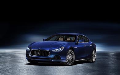 2014 Maserati Ghibli wallpaper thumbnail.