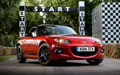2014 Mazda MX-5 25th Anniversary wallpaper thumbnail.