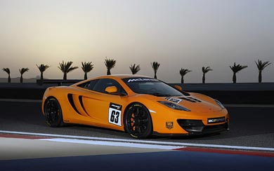 2014 McLaren 12C GT Sprint wallpaper thumbnail.