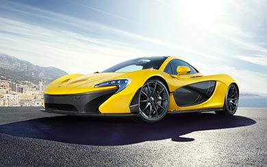 2014 McLaren P1 wallpaper thumbnail.