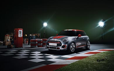 2014 Mini John Cooper Works Concept wallpaper thumbnail.