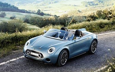 2014 Mini Superleggera Vision Concept wallpaper thumbnail.