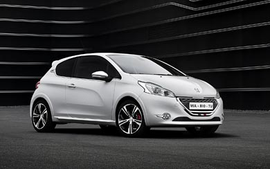 2014 Peugeot 208 GTi wallpaper thumbnail.