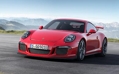 2014 Porsche 911 GT3 wallpaper thumbnail.