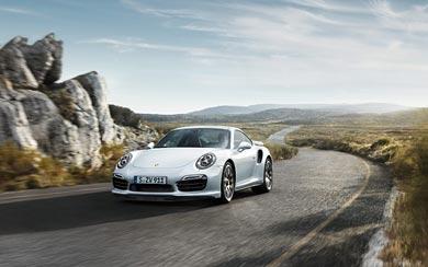 2014 Porsche 911 Turbo S wallpaper thumbnail.