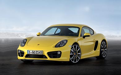 2014 Porsche Cayman wallpaper thumbnail.