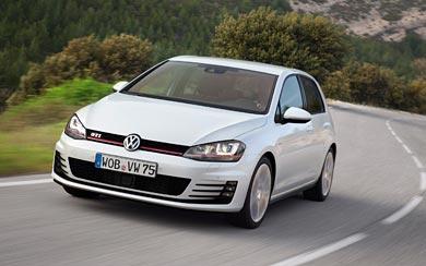 2014 Volkswagen Golf GTI wallpaper thumbnail.