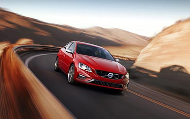 2014 Volvo S60 R-Design wallpaper thumbnail.