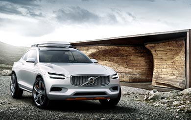 2014 Volvo XC Coupe Concept wallpaper thumbnail.